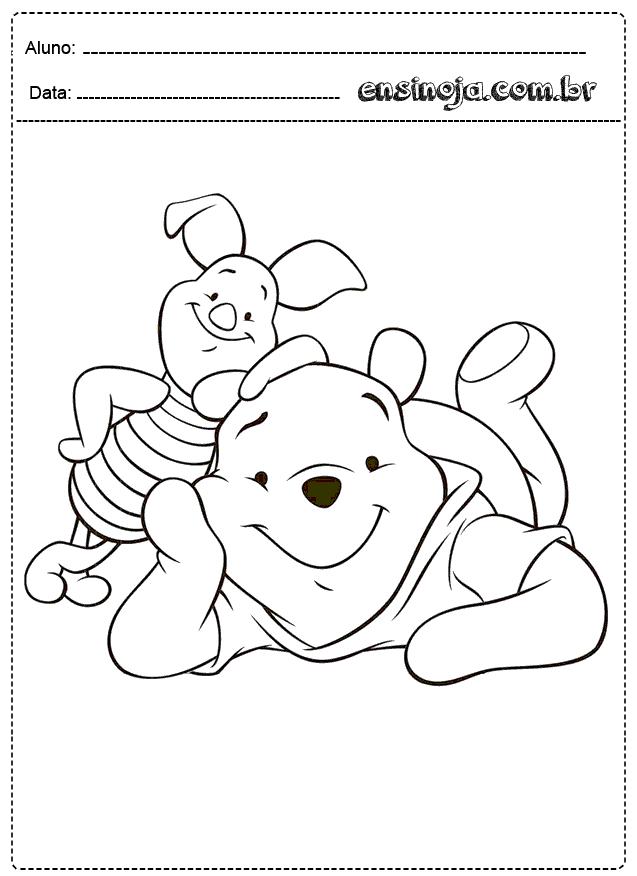 Atividades Para Colorir Educacao Infantil Para Imprimir Ensinoja