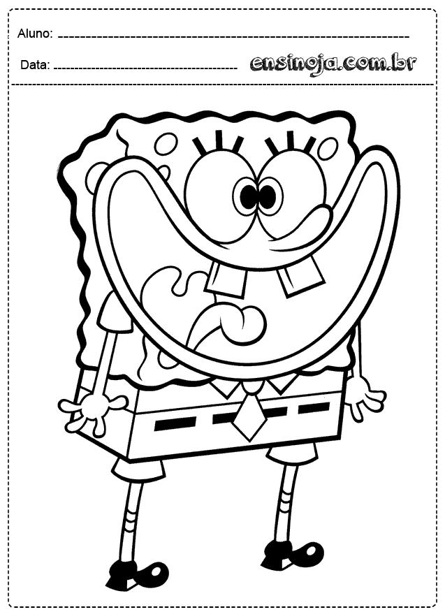 Desenhos Para Crianca Colorir E Pintar Ensinoja